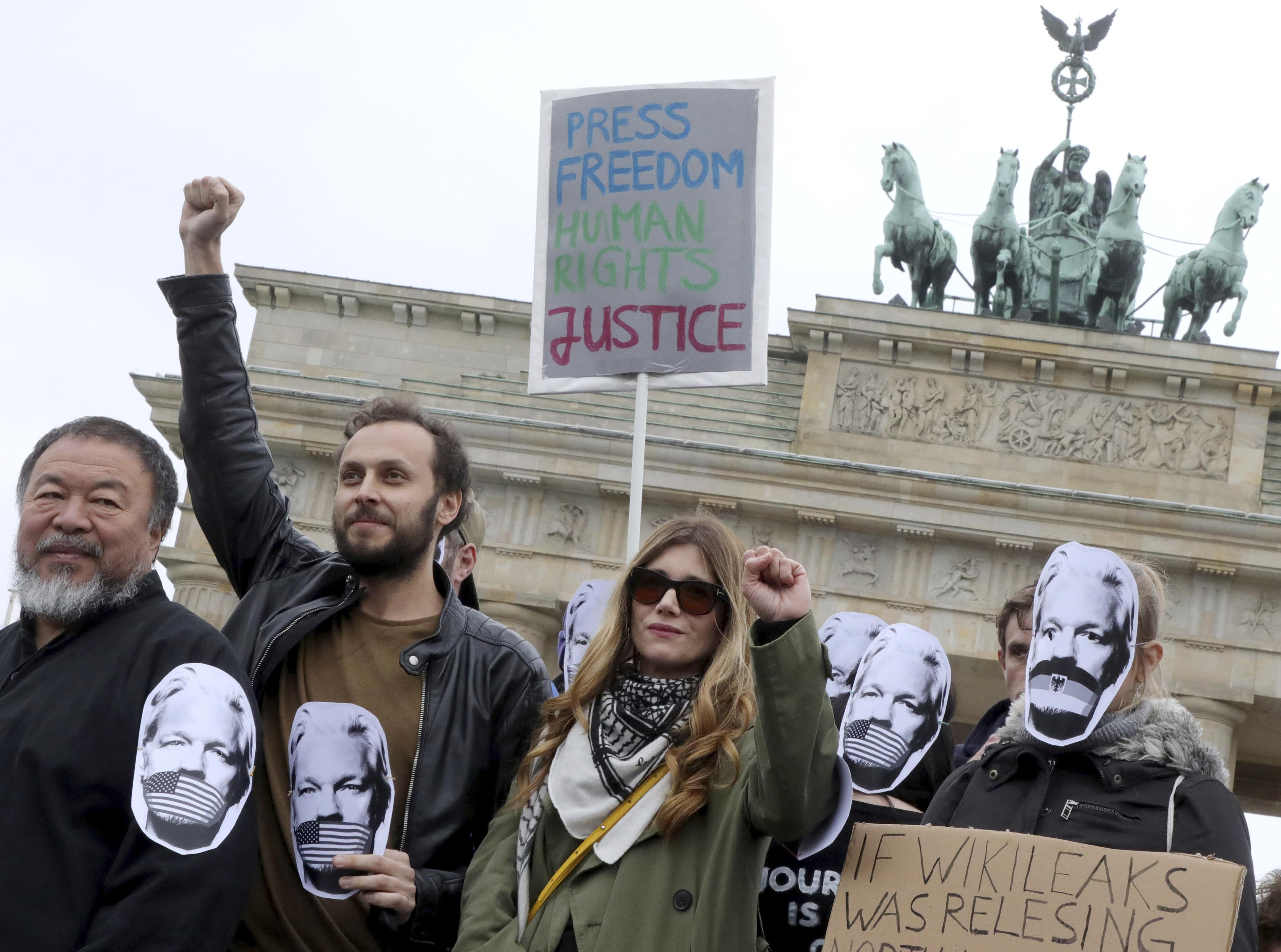 AP Explains WikiLeaks Founder Has Multinational Legal Woes