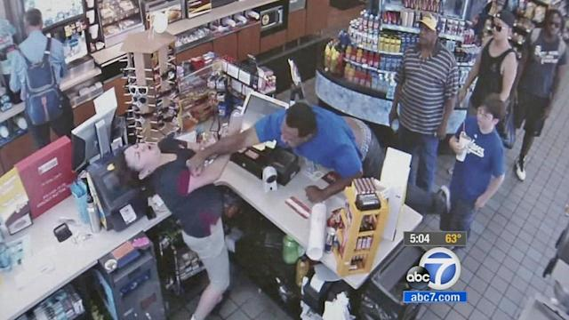 Gas station customer punches clerk in face over cigar price