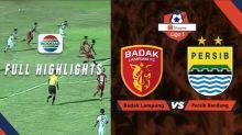 VIDEO: Highlights Shopee Liga 1 2019, Persib Bandung Bermain Imbang Melawan Badak Lampung FC