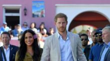 Meghan Markle's khaki shirt dress is now available to buy