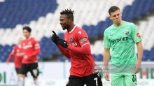 Patrick Twumasi climbs off the bench to score brace for Hannover in 4-0 win against Sandhausen