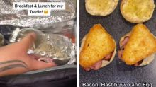 Woman's 'magnificent' lunches for tradie boyfriend go viral