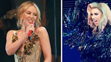 Kylie Minogue would love to duet with Lady Gaga