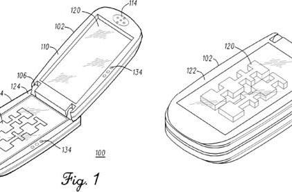 Motorola patent application offers new option for 3D cellphones