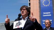 """Puigdemont cree que la suspensión de los diputados presos es una """"confusión en la separación de poderes"""""""