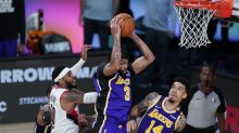 NBA playoffs tracker: LeBron James, Anthony Davis flex muscle as Lakers take series lead