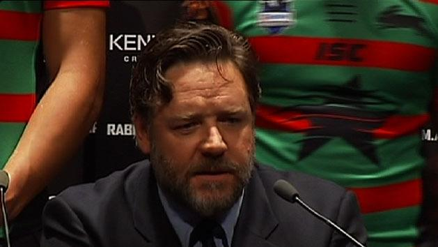 Russell Crowe to sell Souths stake