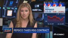 PepsiCo takes Madison Square Garden contract from Coca-Co...