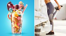 'Freakshakes' contain 39 teaspoons of sugar - so how much exercise burns off the calories?