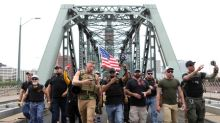 Police make arrests as right-wing, anti-fascist groups rally in Portland