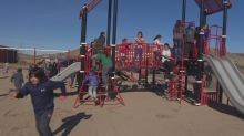 Building playgrounds and relationships: Ahmadiyya Muslims and Standing Buffalo celebrate new play structure