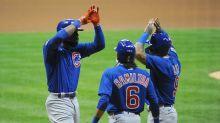 Cubs' Jason Heyward hits big three-run homer off Josh Hader