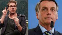 """Fábio Porchat critica Bolsonaro: """"Deveria confiar na ciência"""""""