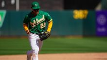A's injuries: Laureano out of Sunday lineup; Pinder nearing return