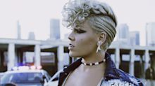 Are you ready to get Pink's voluminous short-hair video look?