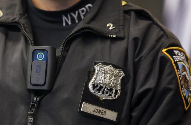 NYPD details its body camera policy ahead of spring pilot program
