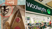Woolworths shopper's 'horror movie' find in family's gingerbread house