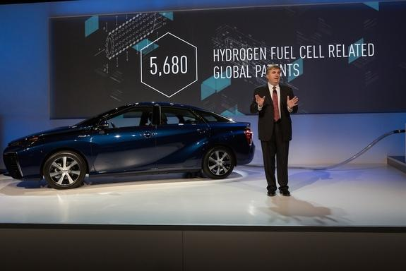 Following Tesla's Lead, Toyota Makes Fuel Cell Patents Free