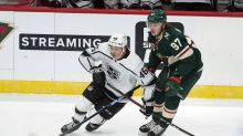 Peterson makes 32 saves, Kings hold on to beat Wild 2-1