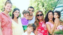 """Irmãos Simas se reúnem para foto em família: """"Só amor"""""""