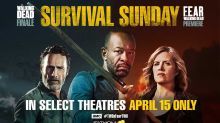 'The Walking Dead' Season 8 'Finale & 'Fear the Walking Dead' crossover will play on the big screen