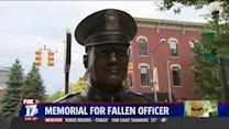 7-Foot Statue Honors Fallen Officer