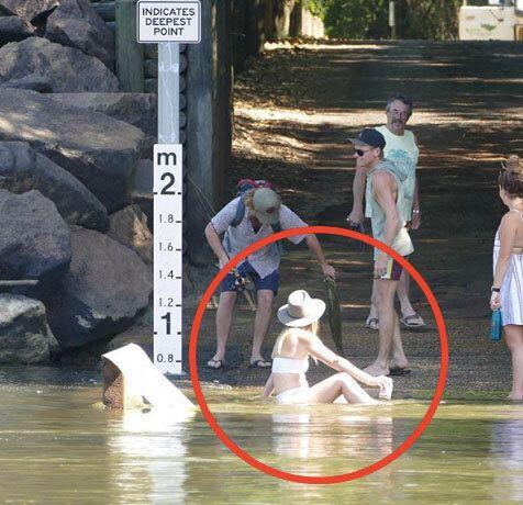 Tourist opens up on 'idiotic' act at notorious croc crossing