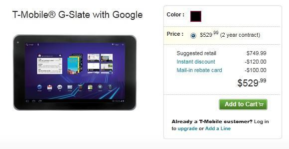 T-Mobile G-Slate and Sidekick 4G now on sale, Android overload imminent