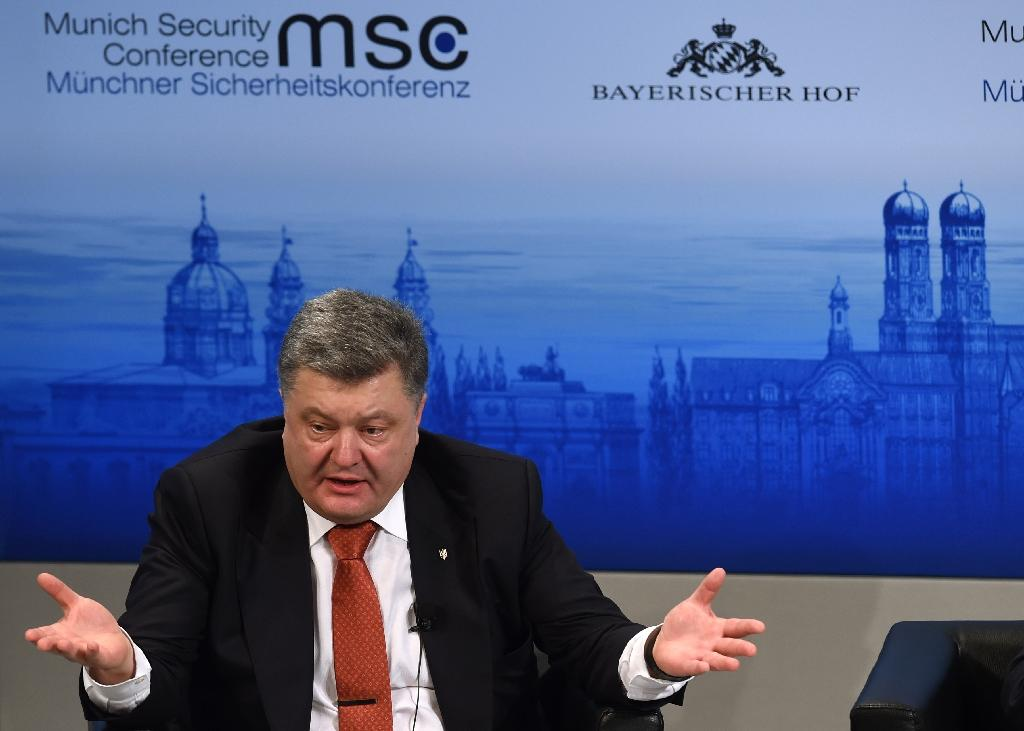 Ukrainian President Petro Poroshenko says the government needs a complete reboot after failing to follow through on the reforms it promised during the former Soviet republic's 2014 pro-EU revolt (AFP Photo/Christof Stache)
