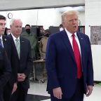 President Trump travels to Kenosha amid Blake shooting protests