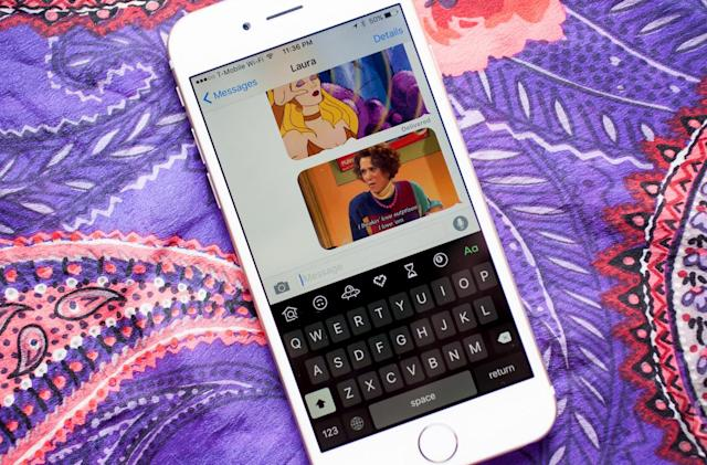 Giphy Keys for iOS puts GIFs at your fingertips