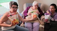Aldi fans are making 'adult Capri Suns' with frozen fruit bags