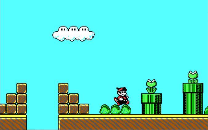 id Super Mario Bros 3. demo