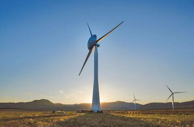 GE's big-nosed wind turbine generates more power