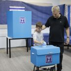 The Latest: Arab leader urges high turnout in Israeli vote