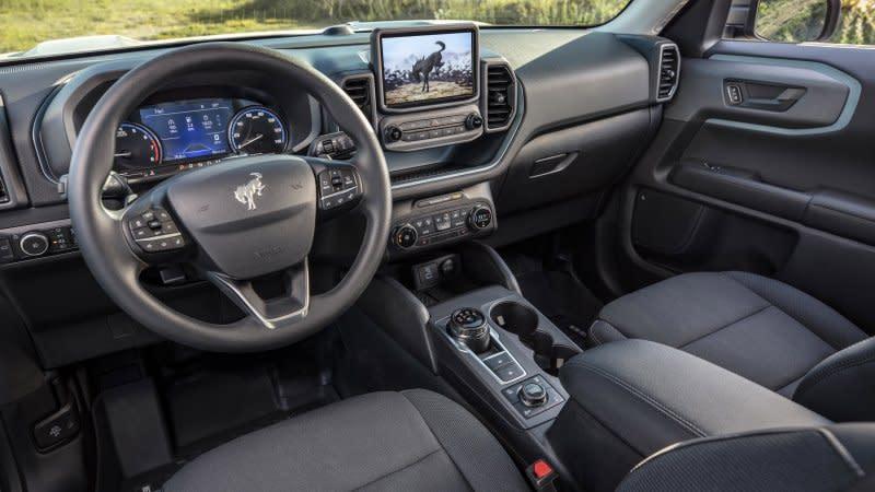 2020 Ford Escape Interior Driveway Test