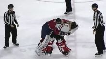 AHL goaltenders drop the gloves in spirited but unexpected fight