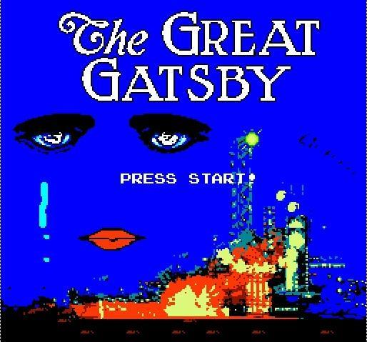 The Great Gatsby gets a beautiful, enthralling NES version, kills productivity of the literary gaming elite