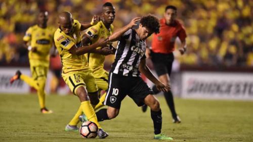 Camilo elogia Botafogo no Equador: 'Nosso melhor jogo na Libertadores'