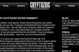 Cryptozoic takes over WoW TCG license