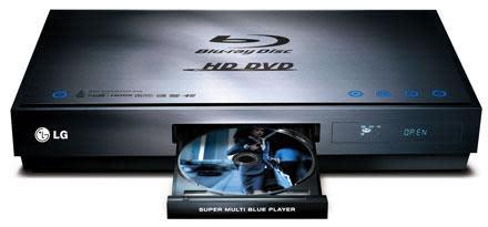 LG's BH100 hybrid Blu-ray & HD DVD player: $1,199