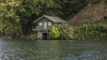 For sale: £700,000 Georgian boathouse that comes with a share of Princess Anne's lake