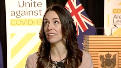 Earthquake interrupts New Zealand PM's TV interview