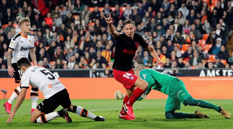 Valencia unable to end winless run against Atletico Madrid