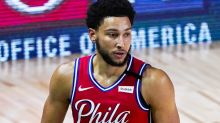 Fears for Ben Simmons after awkward NBA injury
