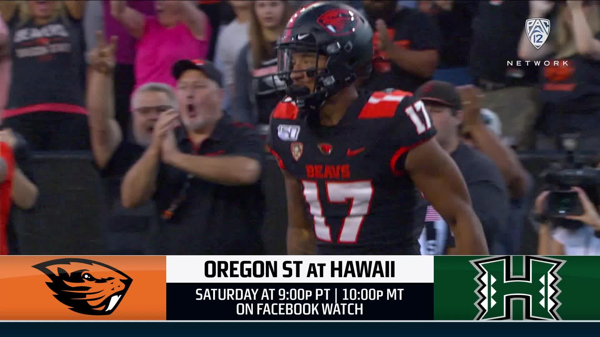 Oregon State-Hawai'i football game preview