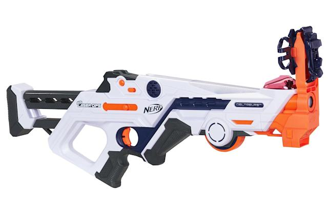 Nerf's new laser tag guns hook up to your smartphone