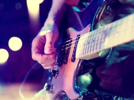 audience, background, band, closeup, club, concert, crowd, electric, entertainment, event, festival, fun, guitar, guitarist, instrument, ins