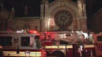 Fire at Brooklyn church called suspicious