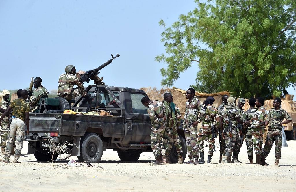 A multinational force from Niger, Chad, Cameroon and Nigeria are fighting the Boko Harm militant group in west Africa (AFP Photo/Issouf Sanogo)